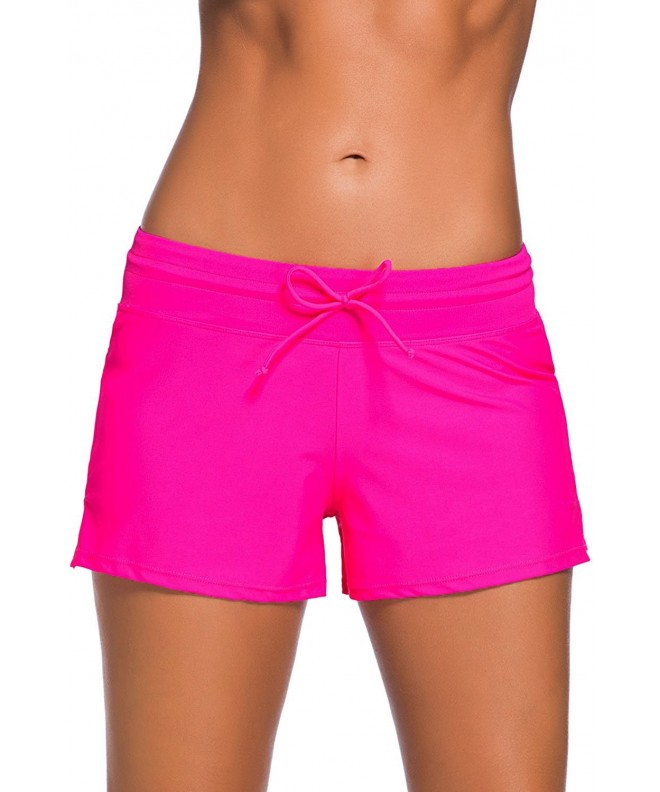 Aleumdr Womens Boardshort Bottom Swimming