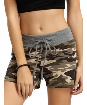 SweatyRocks Camouflage Workout Shorts Pants