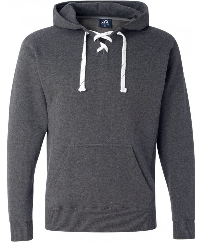 Charcoal Hockey Hood Sweatshirt Polyester
