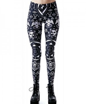 Killstar Occult Pentagram Illuminati Leggings