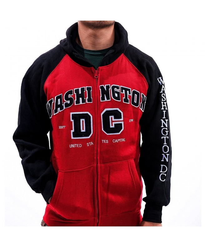 Washington DC Toned Hoodie Sleeves
