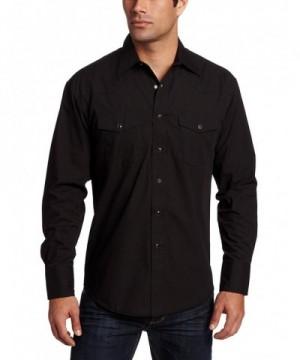 Wrangler Sport Western Shirt Black