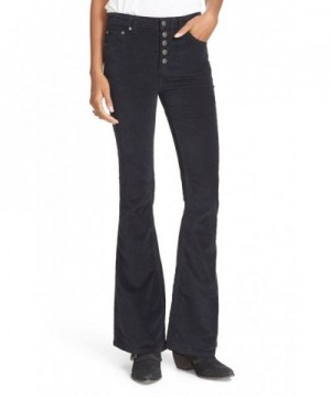 Free People Womens Corduroy Flared