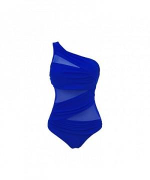 Womens Swimwear Shoulder Monokinis Bathing