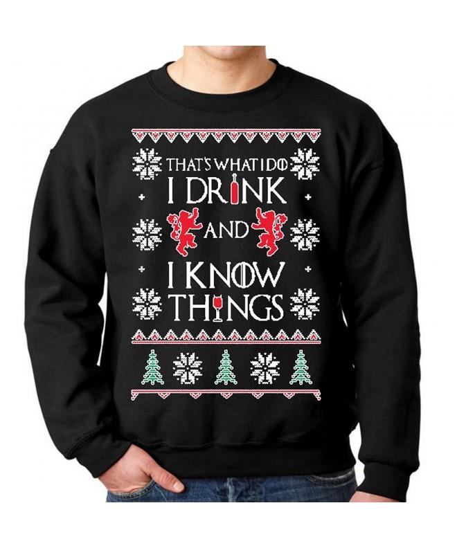 fresh tees Things Christmas Sweatshirt