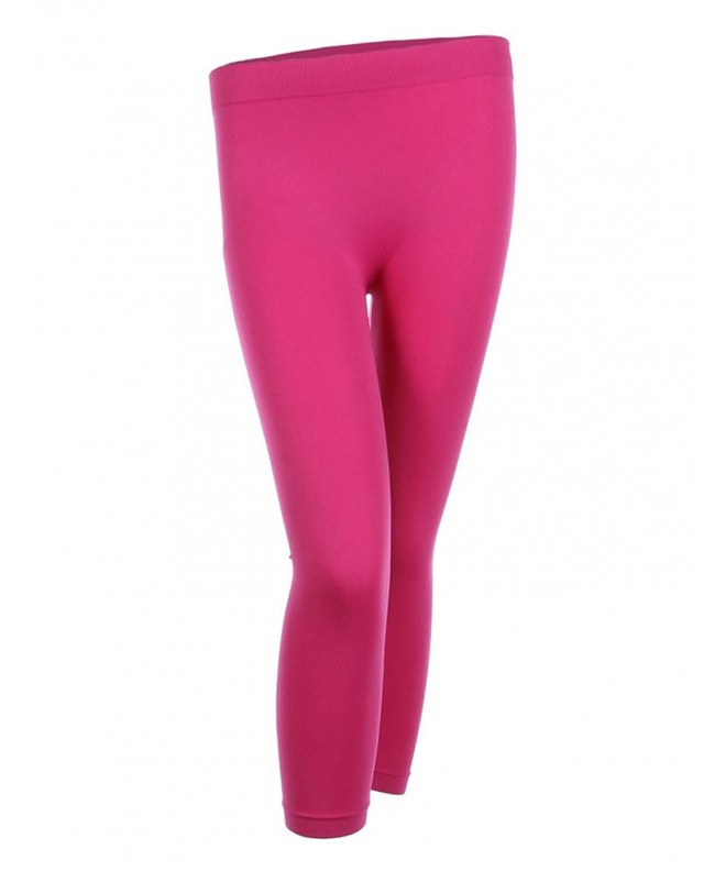 Trend Seamless Length Leggings Fuchsia