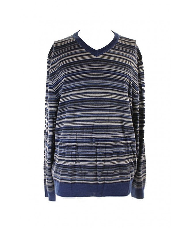 Club Room Striped Pullover Sweater