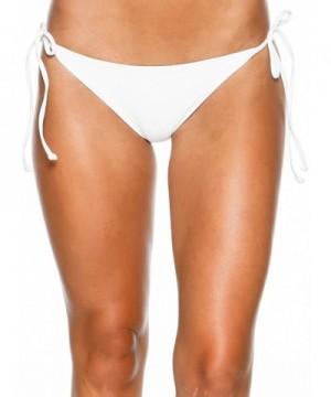 LSpace Womens Bikini Bottoms White