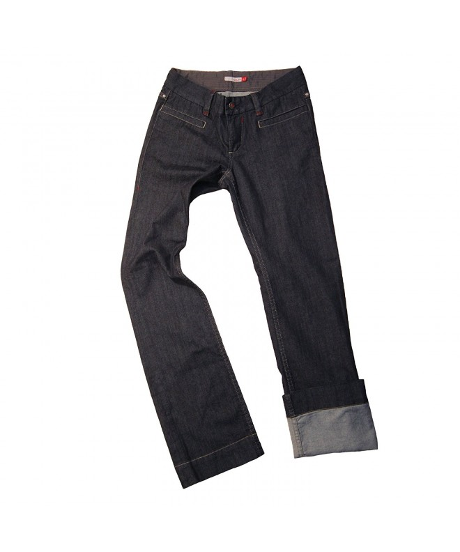 Blurr Womens Betsy Jeans Indigo