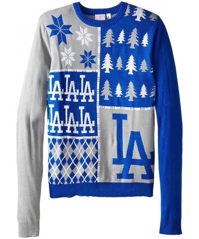 Angeles Dodgers Block Sweater X Large