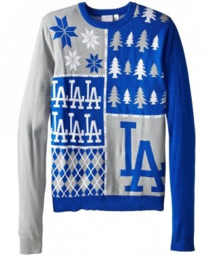 Angeles Dodgers Block Sweater X Large