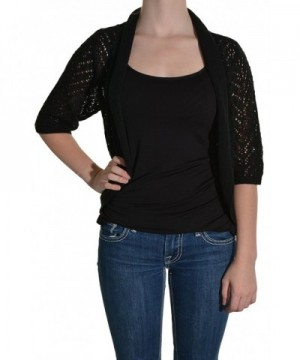 Leo Nicole Cardigan Black Small