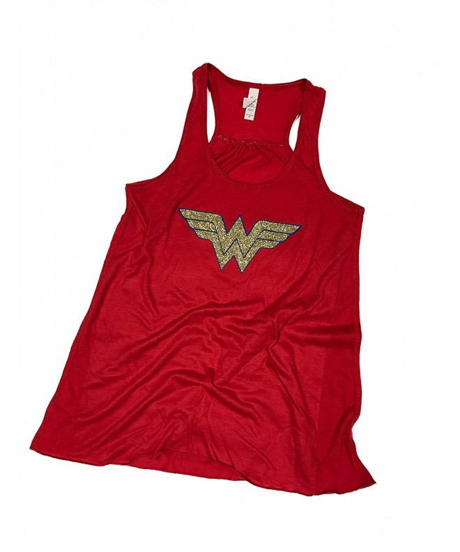 Wonder Woman Flowy Womens Tank