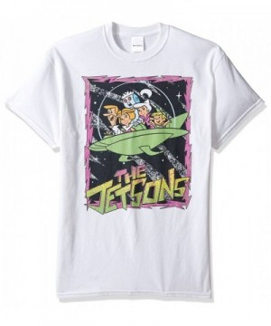 Jetsons Retro Border T Shirt White