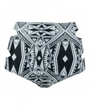 COCOSHIP Geometric Waisted Balanced Swimsuit