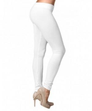 Extra Soft Length Leggings White