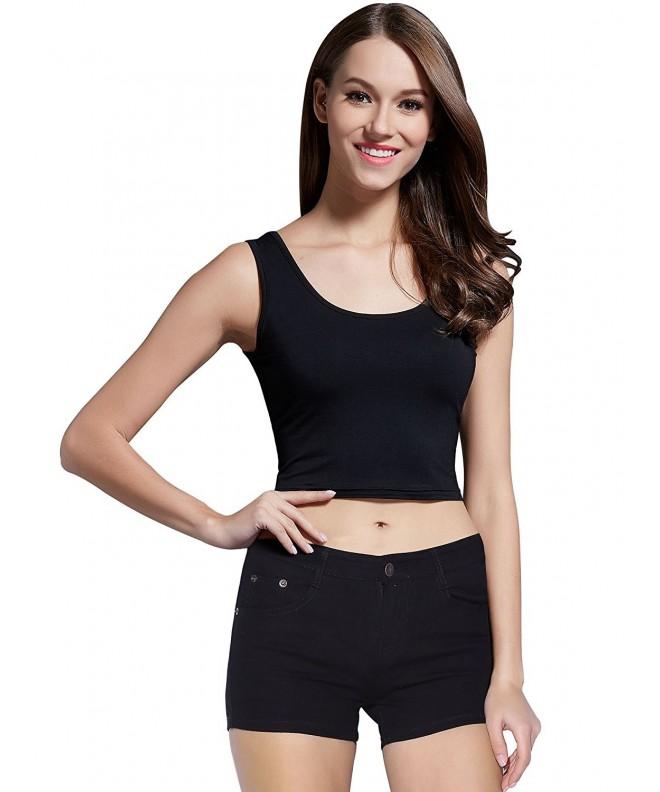 MsBasic Womens Basic Sleeveless Fitness