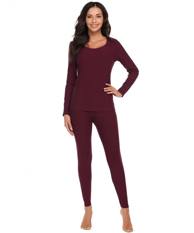 Ekouaer Womens Thermal Underwear Layering