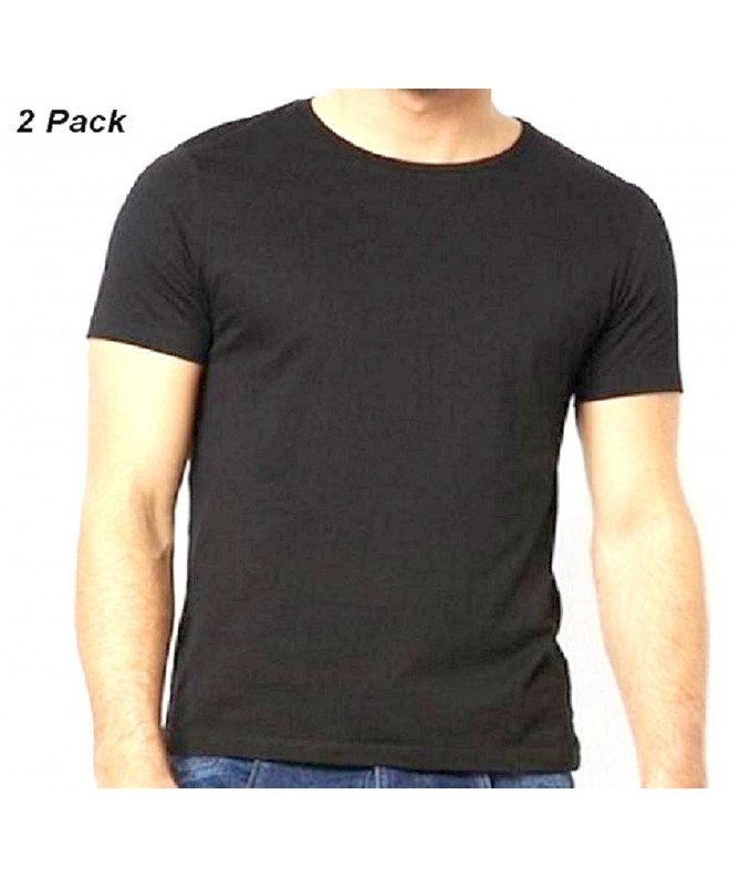 Black Short Sleeve T Shirt 2 Pack