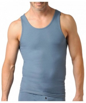 Naked Mens Ribbed Henley Cotton