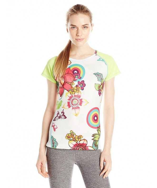 Desigual Womens Green Sleeve Medium