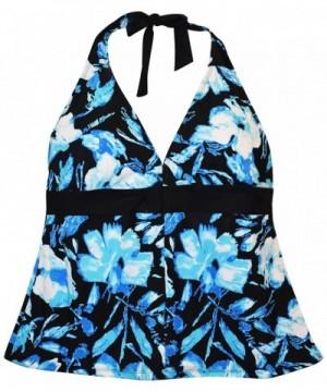 Heat Womens Halter Tankini Swimsuit