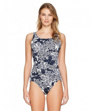 Penbrooke Womens Petaled Mastectomy Swimsuit