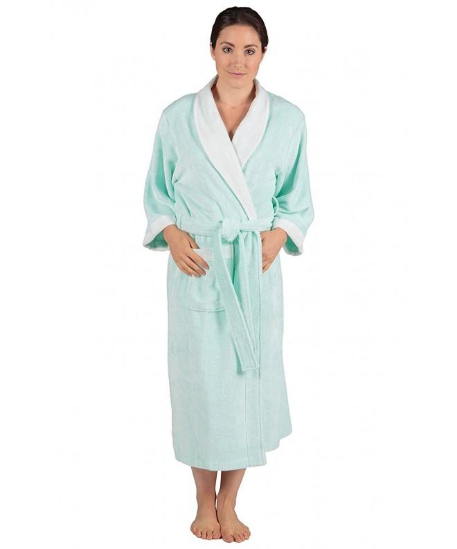 Womens Terry Cloth Bath Robe