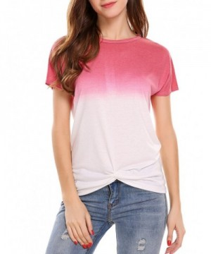 Zeagoo Casual Gradient Sleeve T shirt