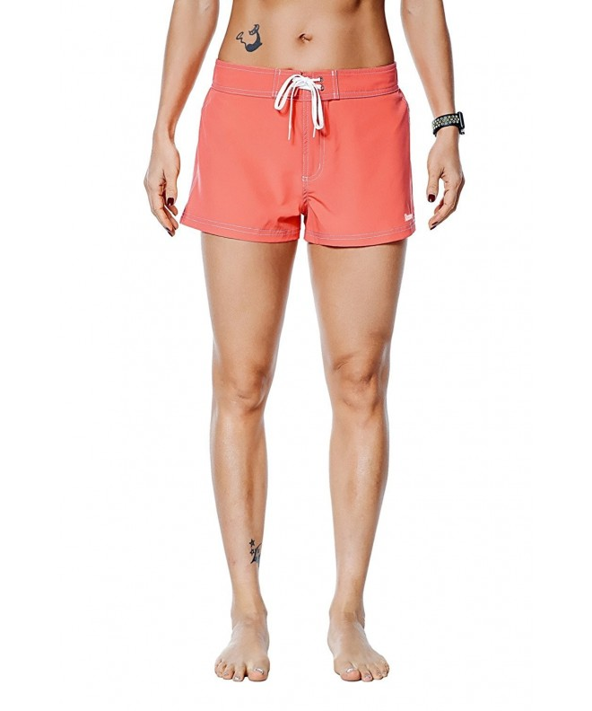 Rocorose Womens Shorts Sports Pocket