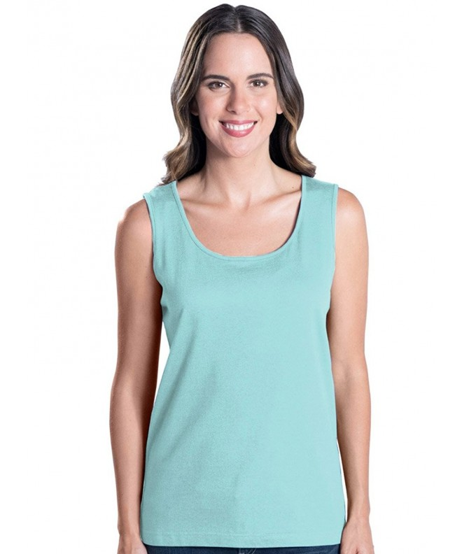 LAT Apparel Ladies Sleeveless Cotton