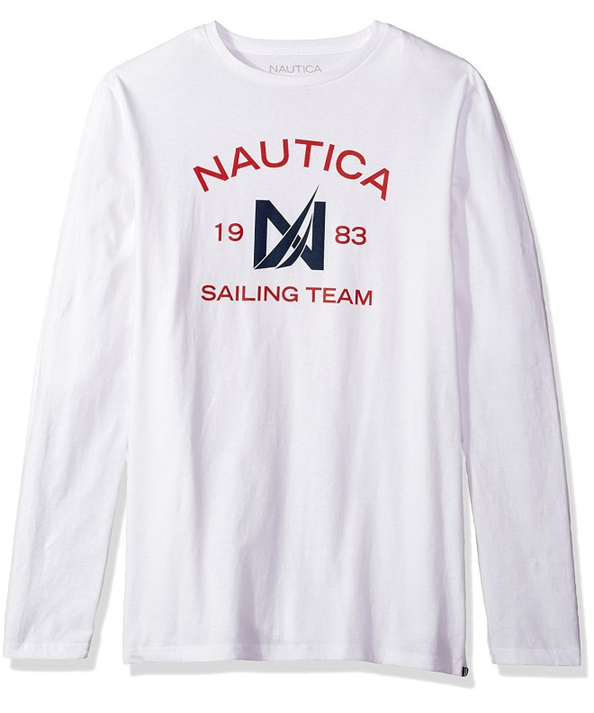 Nautica Sleeve Cotton T Shirt X Large