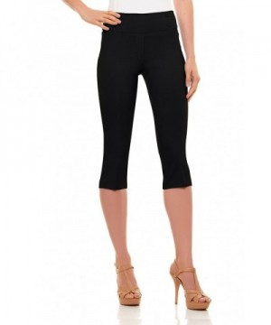 Womens Classic Pants Pull Detailed Velucci