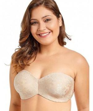 Delimira Non Padded Underwire Minimizer Strapless