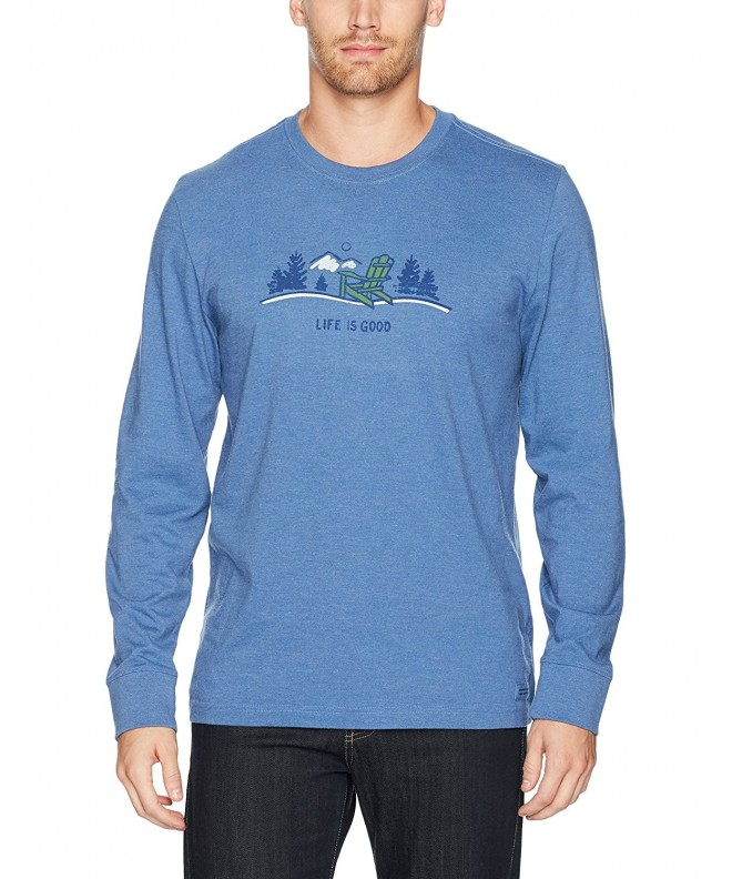 Life Crusher Adirondack T Shirt Heather