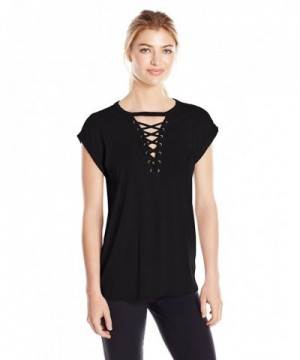 Gottex Womens Front Lace Black