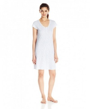 Miss Elaine Womens Nightgown Paisley