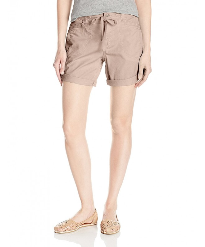 UNIONBAY Womens Gwyneth Short Beige