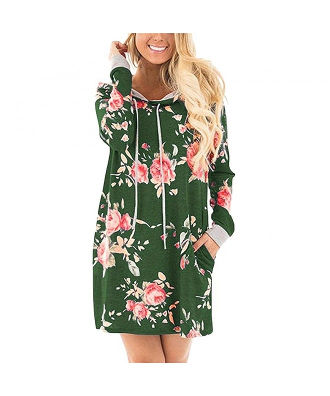 Baguet Pullover Hooded Sleeve Floral