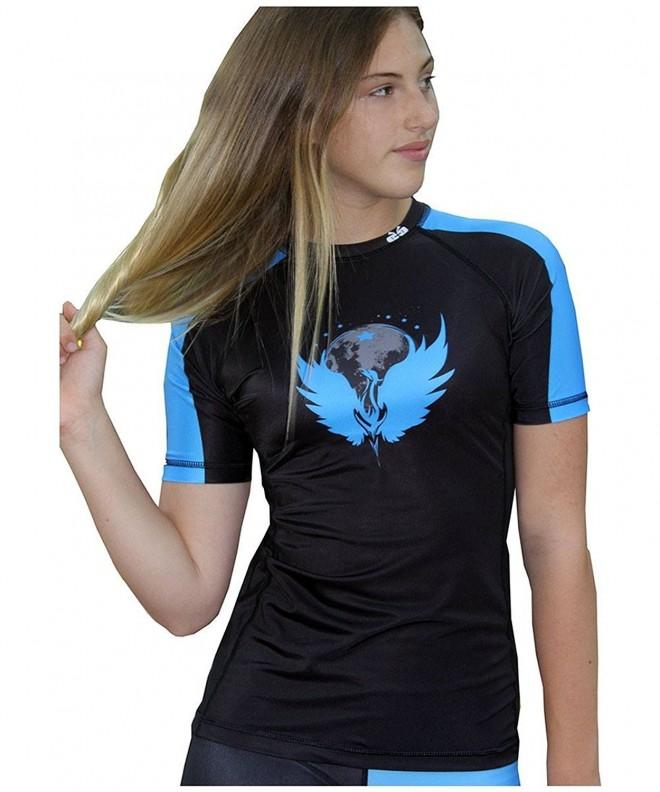Sicchic Womens Phoenix Rising Turquoise