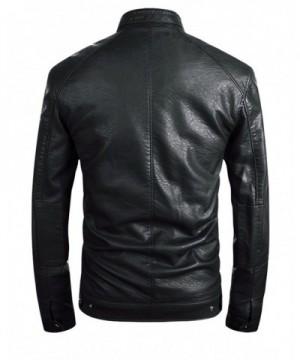Cheap Designer Men's Faux Leather Jackets