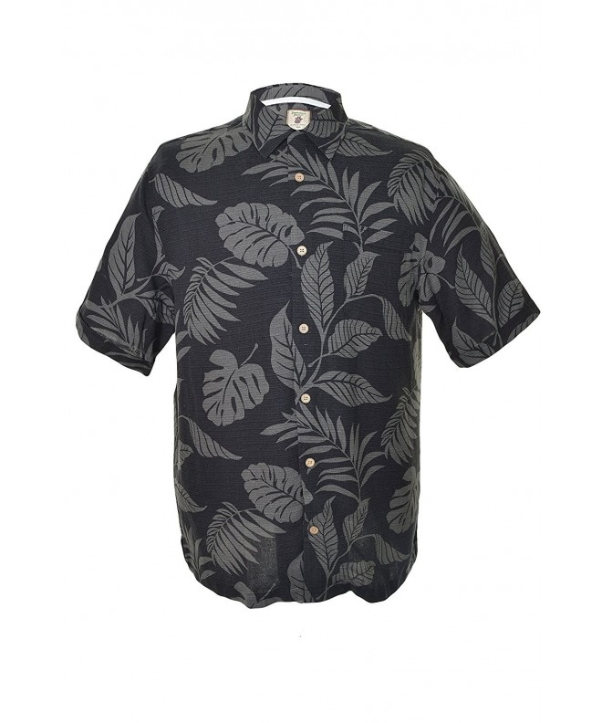 Jamaica Jaxx Sleeve Shirt black Tropical