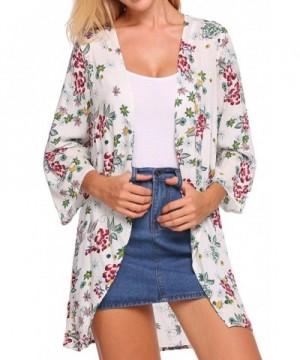COSBEAUTY Womens Floral Cardigan Pattern2