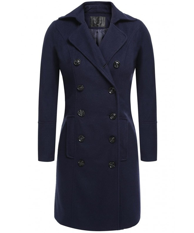 Ladies Trench Elegant Winter Overcoat
