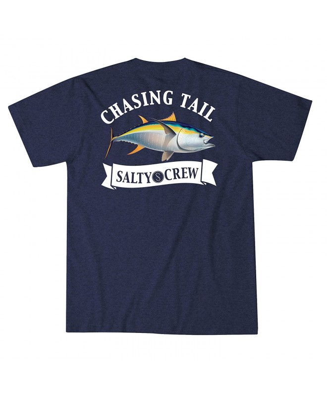 Salty Crew Sickle Navy Heather