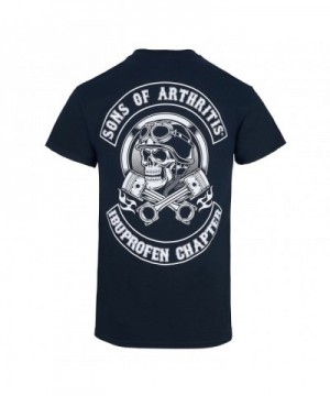 Helmet Cotton Biker T Shirt Large
