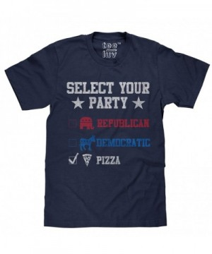 Vote Pizza Party Touch Tee