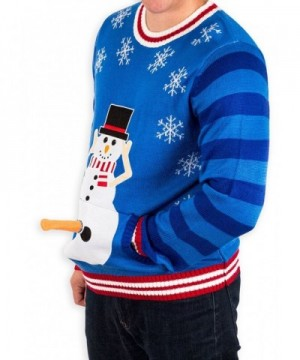 Excited Snowman Christmas Sweater Festified