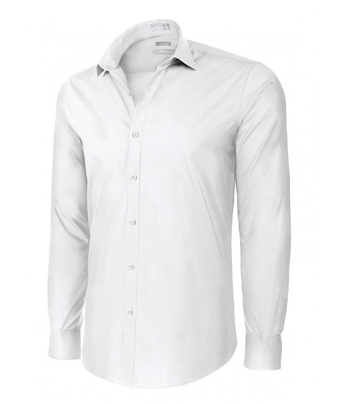 Slim Cotton Pocket Dress Shirt