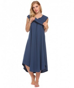 Langle Cotton Womens Nightgown Sleepwear